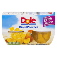 Diced Peaches in Light Syrup