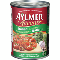 Accents Chunky Stewed Tomatoes, Italian Seasonings