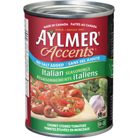 Accents Tomatoes with Italian Seasonings, No Salt Added