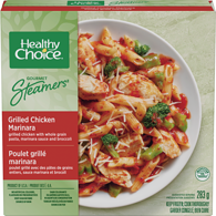 Gourmet Steamers, Grilled Chicken Marinara