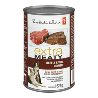 Extra Meaty Dog Food, Beef & Liver Dinner