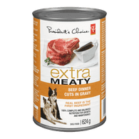 Extra Meaty Dog Food, Beef Dinner Cuts in Gravy