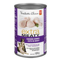 Extra Meaty Dog Food, Chicken Dinner Cuts in Gravy
