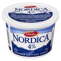 Cottage Cheese, Creamed 4%