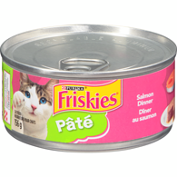 Friskies Pate Salmon Dinner Cat Food