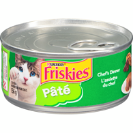 Friskies Pate Chef's Dinner Cat Food