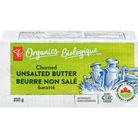 Organic Fresh Churned Butter, Unsalted