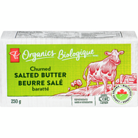 Organic Fresh Churned Butter, Salted
