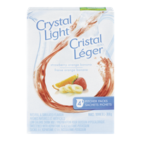Crystal Light, Strawberry Orange Banana