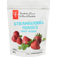 Frozen Strawberries, Whole