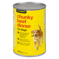 Chunky Beef Dinner Dog Food