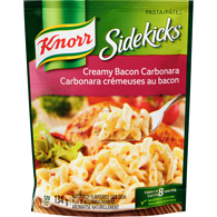 Sidekicks Creamy Bacon Carbonara Pasta Side Dish