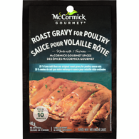 International Roast Gravy for Poultry Sauce Mix, 25% Less Salt