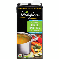 Organic Low Sodium Broth, Vegetable