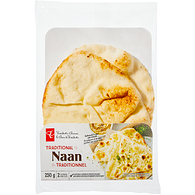 Traditional Naan Flatbreads