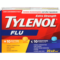 Extra Strength Flu, Day/Night Convenience Pack