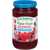 Triple Fruits No Sugar Added Raspberry Strawberry & Blackberry
