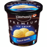 Premium Ice Cream, French Vanilla