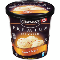 Premium Ice Cream, Butter Pecan
