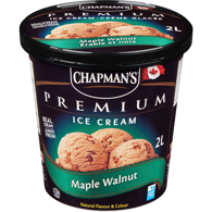 Premium Ice Cream, Maple Walnut