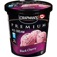 Premium Ice Cream, Black Cherry