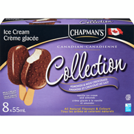 Canadian Collection Ice Cream Bars, Almonds & Milk Chocolate