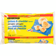 Perogies, Potato and Cheddar, Club Pack
