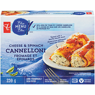 Cheese & Spinach Cannelloni