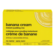Instant Pudding, Banana Cream