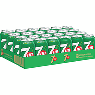 7UP Tray Boissons gazeuses