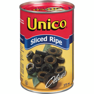 Black Olives, Sliced
