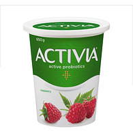 Raspberry 2.9% M.F. Probiotic Yogurt,650g