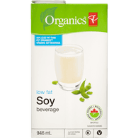 Fortified Soy Milk, Low Fat