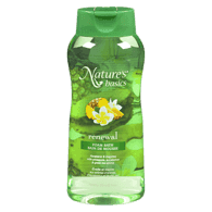 Bain de mousse Nature's basics