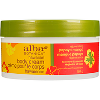 Natural Hawaiian Body Cream, Papaya Mango