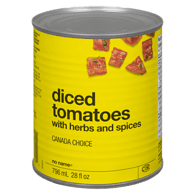 Diced Tomatoes With Herbs  And Spices
