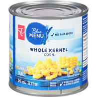 Blue Menu Corn, Whole Kernel No Salt