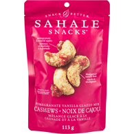 Cashews with Pomegranate & Vanilla