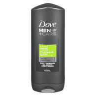 Men+Care Body and Face Wash, Extra Fresh
