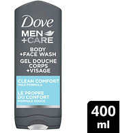 Men+Care Body and Face Wash, Clean Comfort