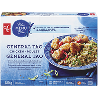Blue Menu General Tao Chicken