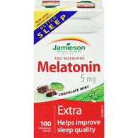 Melatonin 5mg, Chocolate Mint
