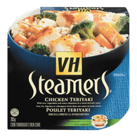 Steamers, Chicken Teriyaki
