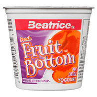 Fruit Bottom Yogurt, Peach