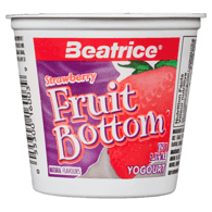 Fruit Bottom Yogurt, Strawberry