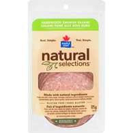 Natural Selections Hardwood Smoked Salami