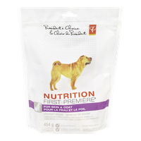 Nutrition First, Chicken Strips for Skin & Coat