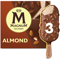 Ice Cream Bars, Almond