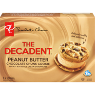 The Decadent Cookies, Peanut Butter Sandwich