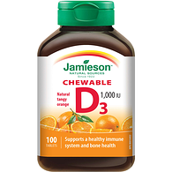 Chewable Vitamin D, Tangy Orange